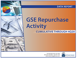 GSE Repurchase Activity: Cumulative to Fourth Quarter 2020