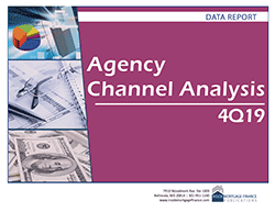 Agency Channel Analysis: 4Q19