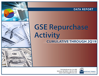 GSE Repurchase Activity: Cumulative to Second Quarter 2019 cover