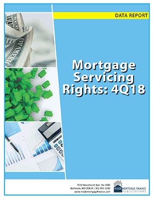 Mortgage Servicing Rights 4Q18 cover